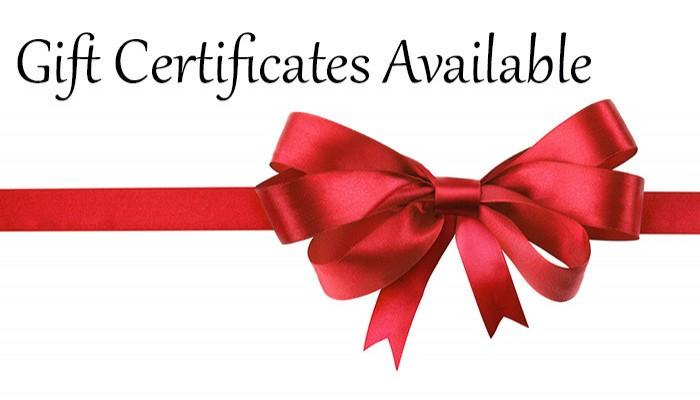 Buy Gift Certificate Here